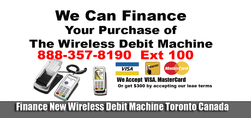 Finance new wireless debit machine saskatoon save on your fees we accept credit cards for services we are a merchant pos terminals toronto gets 300 2999 colourmoves Gallery